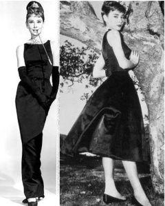Audrey Hepburn em pretinho básico