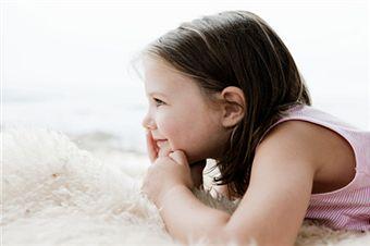 criança amada e feliz