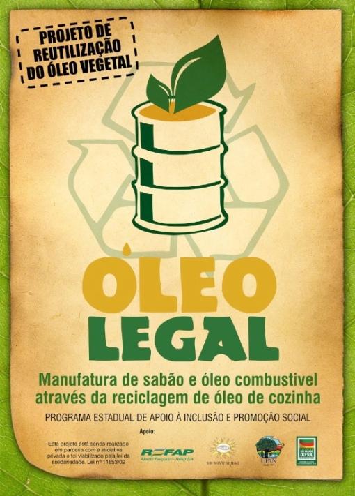 reciclagem de óleo legal